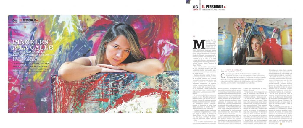 Articulo Revista Gente del Pais de Cali Julio 1 2011