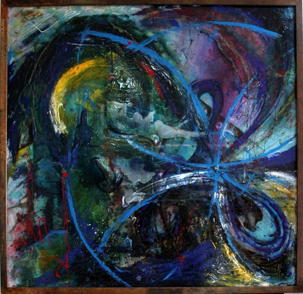"""Arcángel Miguel"" 170 x 170 cm"